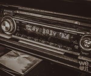 radio, baby, and car image