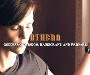 athena, greek mythology, and andy image