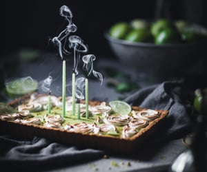 lime, coconut, and dessert image