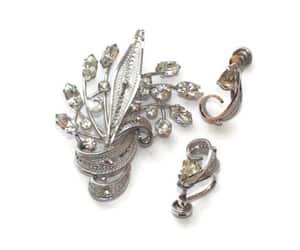 etsy, designer jewelry, and bridal sash image