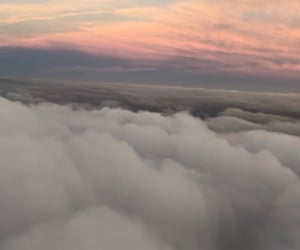 clouds, la, and travel image