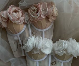 fashion, flowers, and corset image