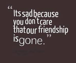 sadquotes and sadfriendshipquotes image