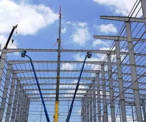prefabricated structures and peb steel structures image