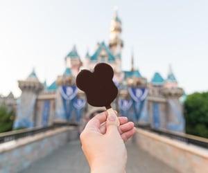chocolate, disney, and icecream image