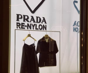 Prada, aesthetic, and brand image