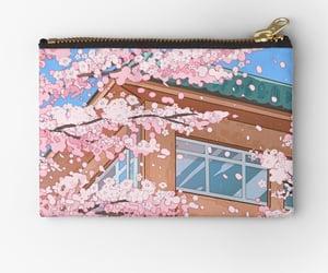 aesthetic, cherry, and Otaku image
