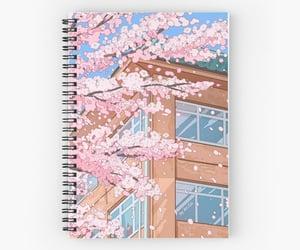 aesthetic, cherry, and manga image