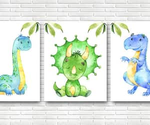 canvas print, baby boy nursery, and print wall art image