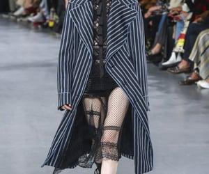 coat, fashion, and haute couture image