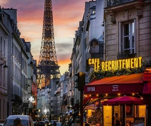 cafe, french cafe, and whisper of silence image