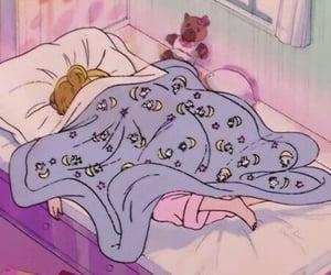 sailor moon, anime, and sleep image