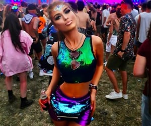 sequins, tomorrowworld, and costumes image