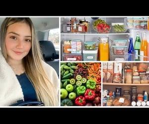 cozy, food, and fridge image