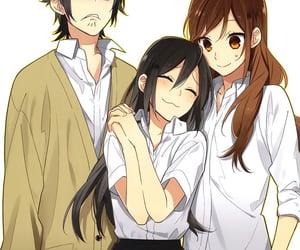horimiya, manga, and funny image