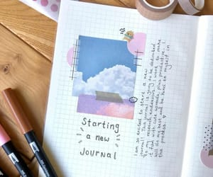 journal, stationery, and bullet journal image