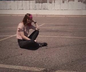 aesthetic, grunge girl, and grunge image