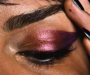 aesthetic, dark skin, and make-up image