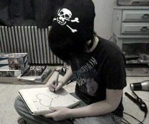 emo, I heart you, and grunge image