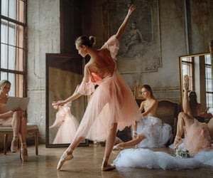ballerina, costumes, and dancers image