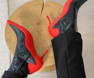 aesthetic, ankle boots, and details image
