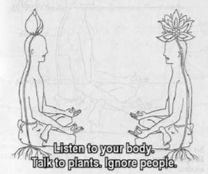 meditation, nature, and zen image