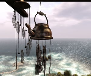 blowing, chimes, and wind image