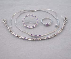 etsy, rhodium plated, and plated sterling image