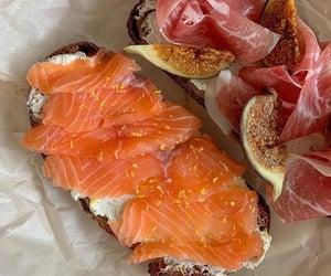 food and salmon image