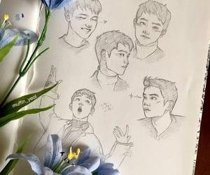 artsy, bae, and exo image
