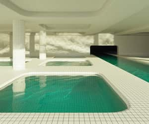cool, pool, and water image