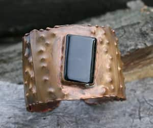 etsy, metalwork, and onyx image