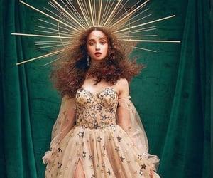 crown, goddess, and dress image