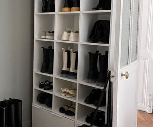 bedroom, home, and shoes image