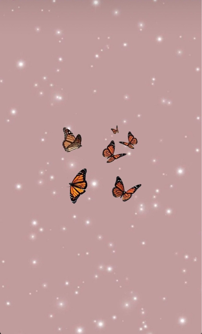 butterfly, 🌺, and yes image
