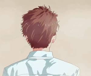 gif, anime boy, and sawaki image