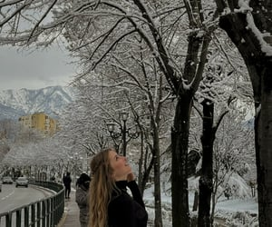 destinations, snow, and style image