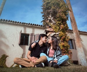 couple, happiness, and nature image