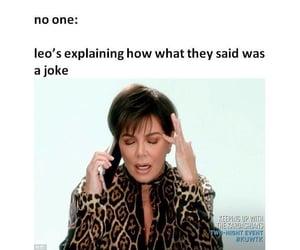 Leo, funny, and mood image