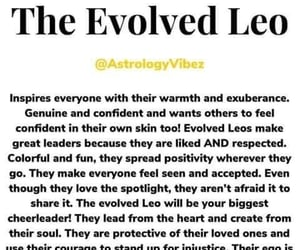 confident, leader, and astrology image