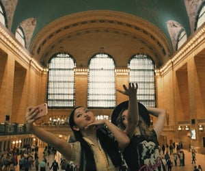 chris, grand central station, and new york image