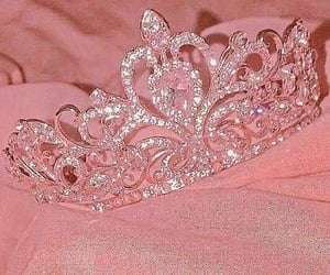 crown, aesthetic, and Queen image