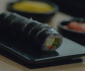 asia, kdrama, and gimbap image