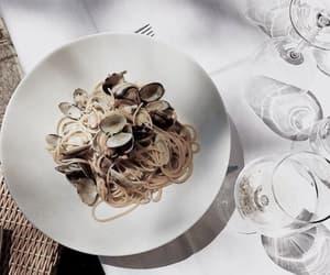 aesthetic, italian restaurant, and vongole image