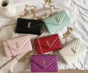 fashion, wallet, and women clothing image