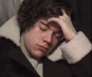 sleepy, Harry Styles, and one direction image