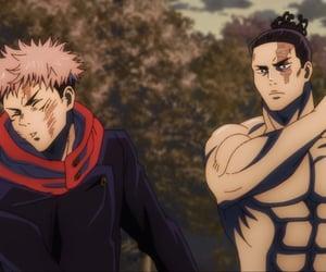 anime, toudou, and jjk image