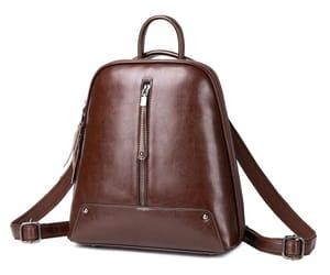 fashion, backpacks, and leather image