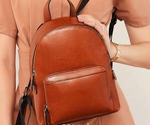 brown bag, backpacks, and women's bag image