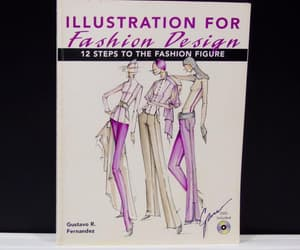 model drawing, etsy, and fashion design image